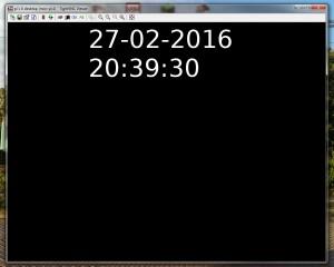 Zegarek - wersja alpha